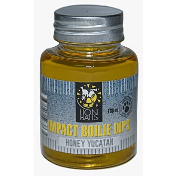 LION BAITS Impact Boilie Dips мед Юкатан (Honey Yucatan) - 130 мл