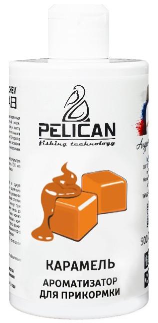 Ароматизатор для прикормки PELICAN Карамель 500 мл.