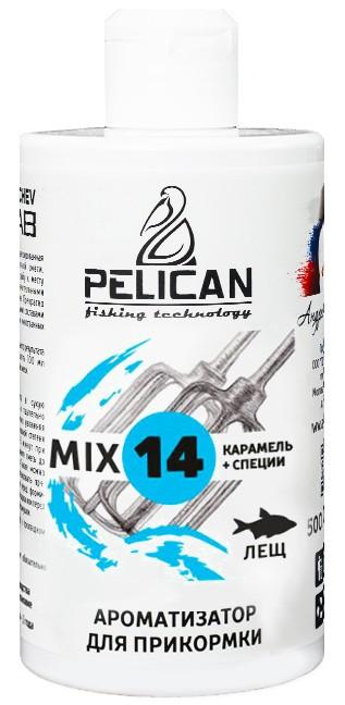 Ароматизатор для прикормки PELICAN Лещ MIX 14, 500 мл.