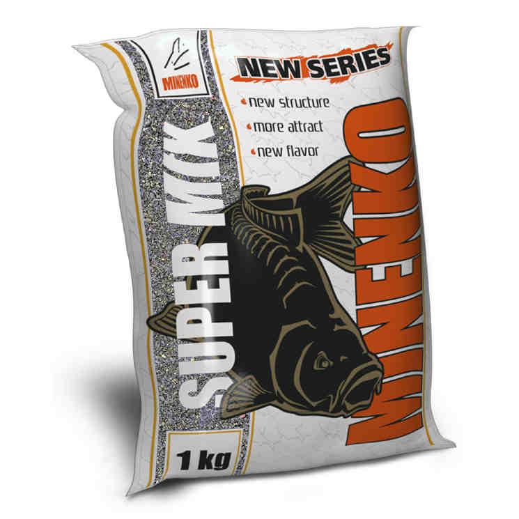 Прикормка MINENKO SuperMix Фидер (чёрный)