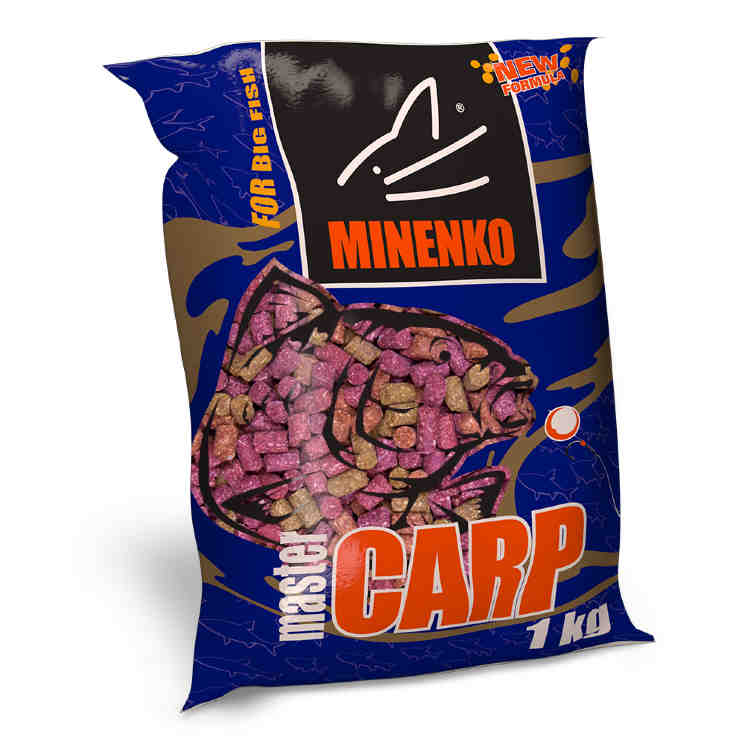 Пеллетс MINENKO Master Carp FRUIT MIX 14мм