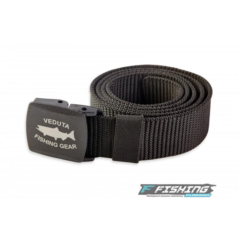 Ремень Veduta Nylon Belt с пластиковой пряжкой