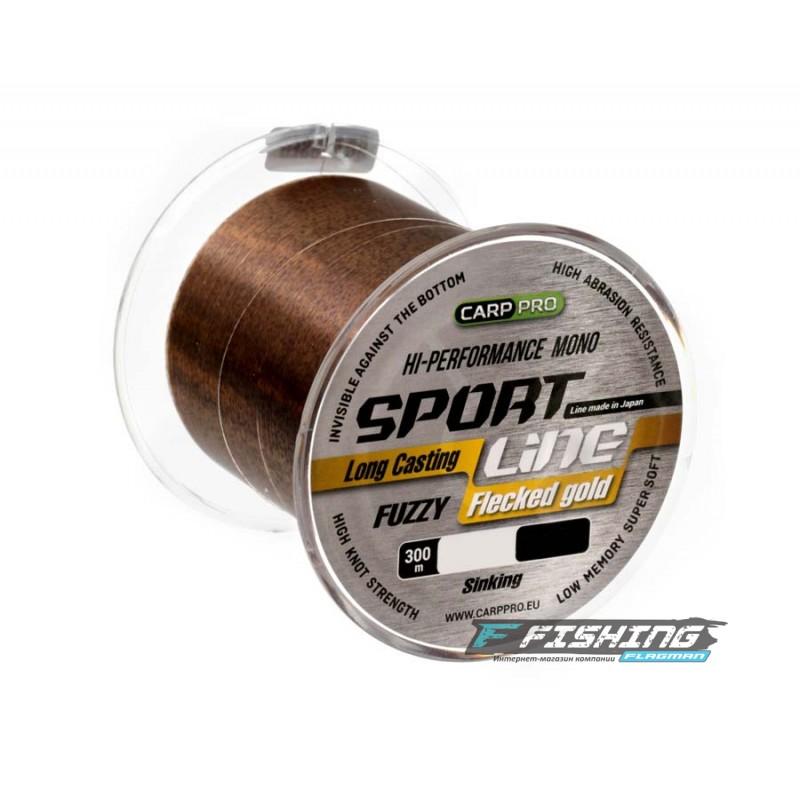 Леска Carp Pro Sport Line Flecked Gold 300м 0.310мм