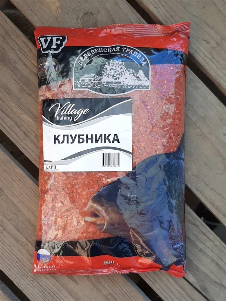 Прикормка VF КАРП КЛУБНИКА 900гр