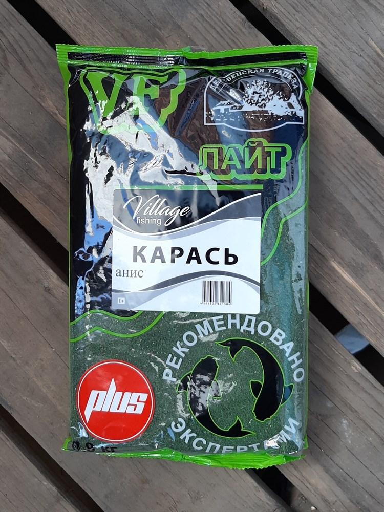 Прикормка VF серия ЛАЙТ PLUS 0,9 кг КАРАСЬ АНИС