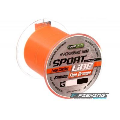 Леска Carp Pro Sport Line Fluo Orange 300м 0.335мм