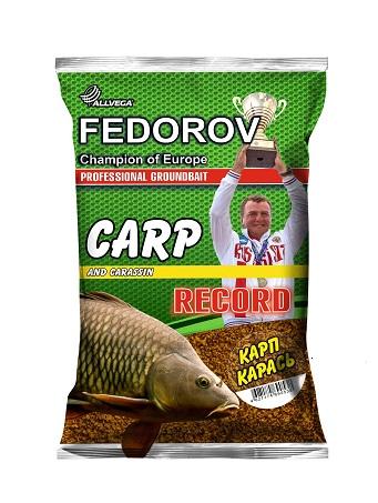 Прикормка ALLVEGA FEDOROV RECORD 1 кг (КАРП КАРАСЬ)