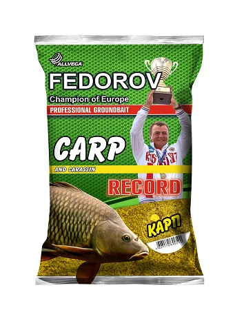 Прикормка ALLVEGA FEDOROV RECORD 1 кг (КАРП )